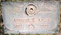 Adeline Elizabeth <I>Iverson</I> Aplin