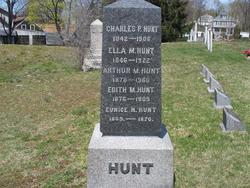 Ella Maria <I>Reed</I> Hunt