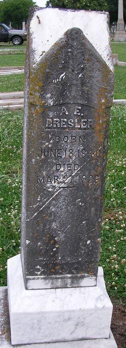 Asher Edward Bresler