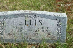 Marion Belle <I>Hutchinson</I> Ellis