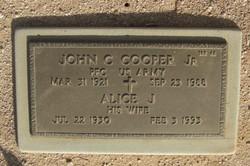 Alice J Cooper