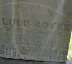 Lulu <I>Boyer</I> Alexander