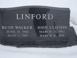 Ruth <I>Walker</I> Linford
