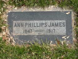 Ann <I>Phillips</I> James