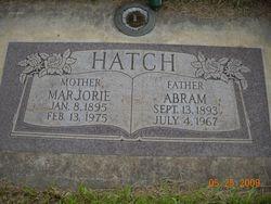 """Abram """"Abe"""" Hatch"""