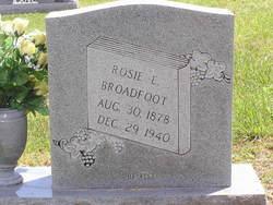 Rosie <I>Holliman</I> Broadfoot