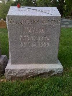 Joseph Walker Taylor