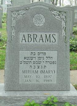 Miriam Abrams