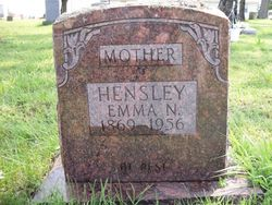 Nancy Emiline <I>Casey</I> Hensley