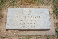 PFC Lillis F. Baker