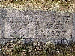 Elizabeth <I>Wolter</I> Botz