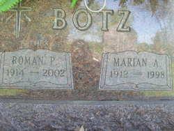 Marian A Botz