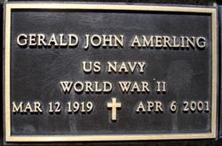 """Gerald John """"Chet"""" Amerling, Sr"""