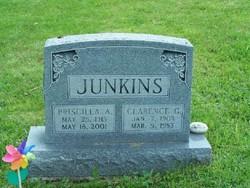 "Priscilla A ""Sissy"" <I>Kuhn</I> Junkins"