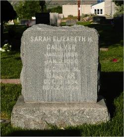 Sarah Elizabeth <I>Haddock</I> Gallyer