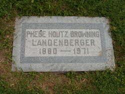 Phebe <I>Houtz</I> Landenberger