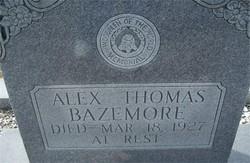 Alexander 'Alex' Thomas Bazemore