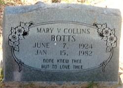 Mary V. <I>Collum</I> Botts