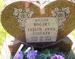 Evelyn Anna <I>Stocker</I> Rogers