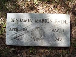 Benjamin Marion Bath