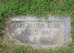 Mary Frances <I>Fulton</I> Rudd