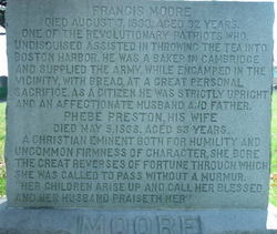 Phebe <I>Preston</I> Moore