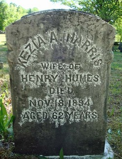 Kezia A <I>Harris</I> Humes