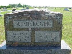 Roberta E Aemisegger