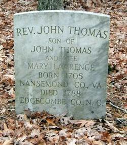 Rev John Thomas