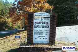 Stamp Creek Cemetery