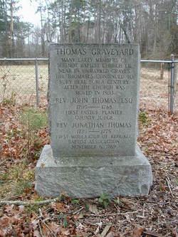 Toisnot Baptist Church Cemetery