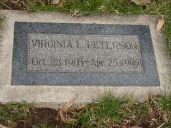 Virginia Lindsay Peterson