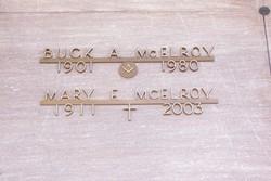"Albert Anderson ""Buck"" McElroy"