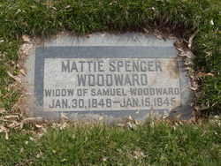 Mattie <I>Spencer</I> Woodward