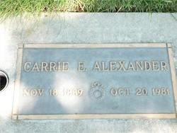 Caroline Ernestine <I>Bippes</I> Alexander