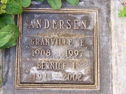 Bernice I Andersen