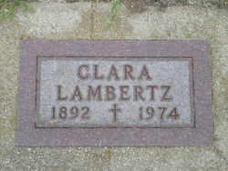Clara <I>Schmidt</I> Lambertz