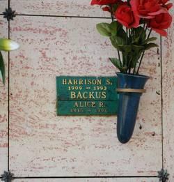 Harrison Stout Backus