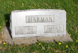 """Elvy Mae """"Mae"""" <I>McMellen</I> Harman"""