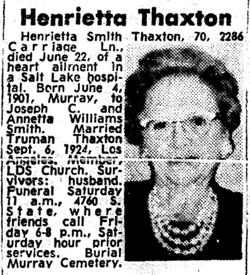 Henrietta Thaxton