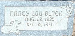 Nancy Lou Black