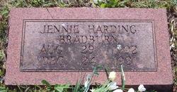 Jennie Harding Bradburn