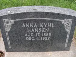 Annie Kyhl Hansen
