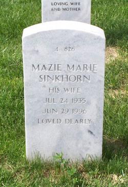 Mazie Marie <I>Pierce</I> Sinkhorn