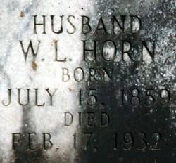 William Lafayette Horn