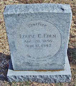 Louise Catherine <I>McVean</I> Eden