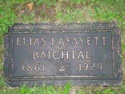 """Elias Lafayett """"Ely"""" Baichtal"""