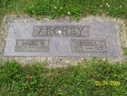 Virginia Caroline <I>Cowin</I> Archey