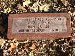 Harriet <I>Peirce</I> Robinson