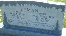Louisa <I>Redd</I> Lyman